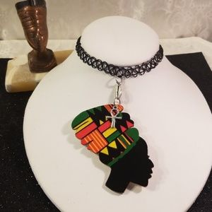 Jewelry - African queen tattoo choker